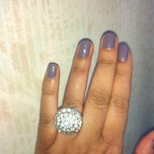 Cocktail ring, size 7 , super pretty